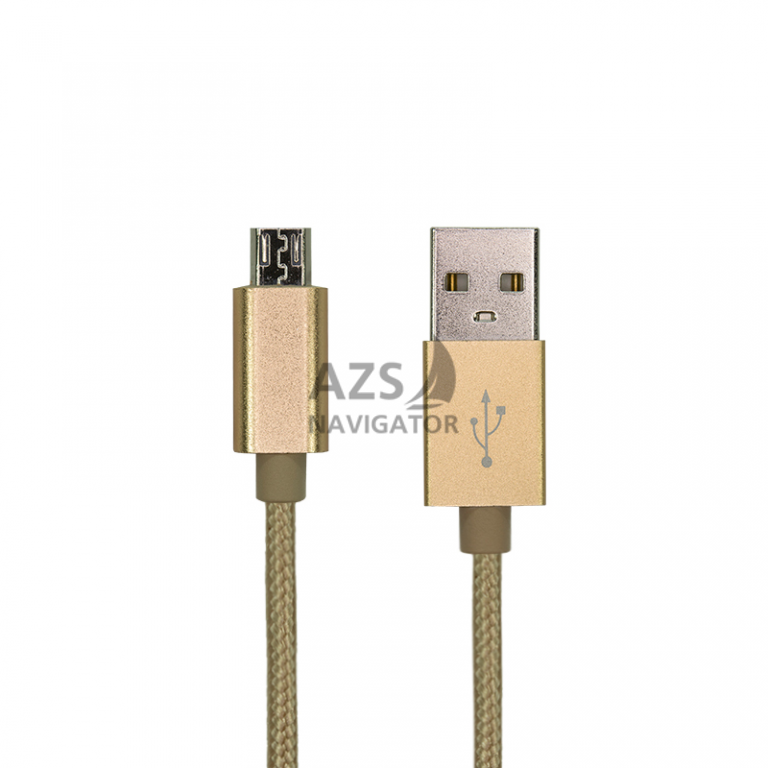 USB Cable Gelius Gold Edition microUSB